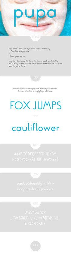 pupa font
