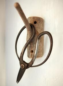 Handmade Wood Hook : Remodelista#