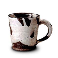 マグカップ おしゃれ/和風/信楽焼/食器/ギフト 白流
