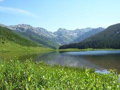 Piney River Ranch- the lake & mountains