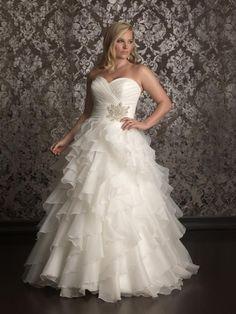 Vestidos de novia para gorditas 2014