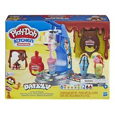 Superb Play-Doh Drizzy Ice Cream Maker with Toppings Now at Smyths Toys UK. Shop for Play-Doh At Great Prices. Free Home Delivery for orders over Play Doh Ice Cream, Ice Cream Set, Ice Cream Maker, Play Doh Knete, Play Doh Tools, Play Doo, Dango Peluche, Ice Cream Playset, Play Doh Kitchen