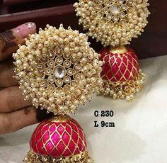 How To Choose Jewelry Indian Jewelry Earrings, Indian Jewelry Sets, Silver Jewellery Indian, Jewelry Design Earrings, Indian Wedding Jewelry, Bridal Jewelry Sets, Fashion Earrings, Antique Earrings, Fashion Jewelry