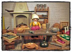 Playmobil - cocina medieval