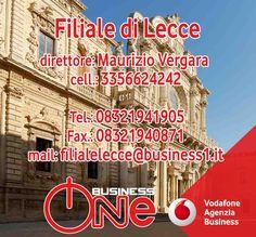 """Per la rubrica """"ci mettiamo la faccia"""", oggi è la volta della filiale Business One di Lecce. Ecco la scheda con tutti i recapiti e le info per i contatti. Business One... una famiglia che cresce! Business One Filiale di Lecce : Viale Michele De Pietro 11 Tel.: 08321941905, Fax.: 08321940871 mail: filialelecce@business1.it direttore: Maurizio Vergara, cell.: 3356624242"""