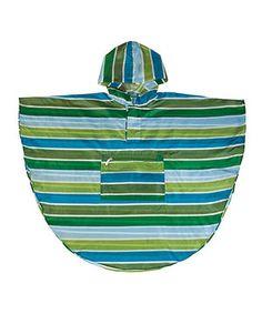 Cool Stripe Poncho by Wildkin #zulily #zulilyfinds