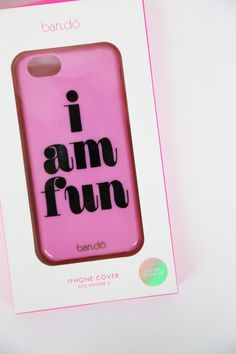 IPhone 6/6S Case - I Am Fun