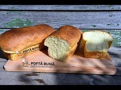 Paine pufoasa de casa, cu iaurt Bread Recipes, Graham, Food, Youtube, Cooking Recipes, Meal, Loaf Recipes, Essen, Hoods