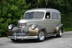 1946 Chevy Suburban  Maintenance/restoration of old/vintage vehicles: the material for new cogs/casters/gears/pads could be cast polyamide which I (Cast polyamide) can produce. My contact: tatjana.alic@windowslive.com