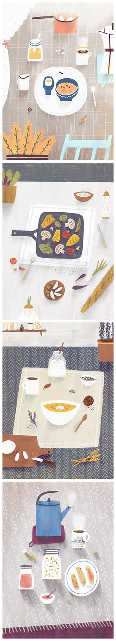 Breakfasts...Nastia Sleptsova