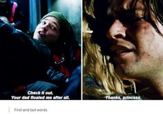 I am the biggest Bellarke shiper, but this moment was just... I kinda liked Finn, he was so kind and loving and it was painful to see him change so much due to the war... RIP Finn