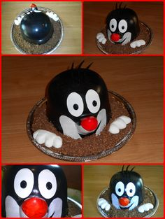 Mole cake - Kisvakond torta Mole, Cake Toppers, Anna, 3d, Design, Backen, Mole Sauce, Design Comics