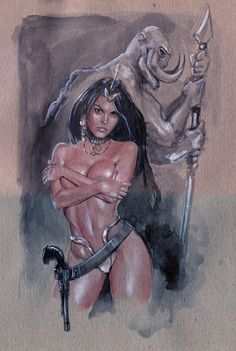 Dejah Thoris - Jay Fife