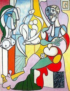 The Sculptor Pablo Picasso Date: 1931 Style: Surrealism Period: Neoclassicist & Surrealist Period Genre: genre painting