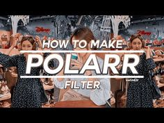 💫 how to make polarr filters #9 - YouTube