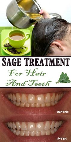 Sage Treatment For Hair And Teeth