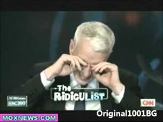 Anderson Cooper Laughs Uncontrollably on Ridiculist Segment - YouTube blogs