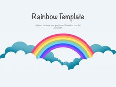 This Rainbow PowerPoint template was built for colorful demonstrations. Free Keynote Template, Creative Powerpoint Templates, Male To Female Transition, Keynote Design, Cute Cat Wallpaper, Small Canvas Art, Easy Food To Make, Pretty Words, Presentation Design