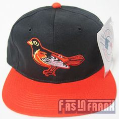 @fasinfrankvintage.com the Baltimore Orioles  #Snapback #Hat with #Bird a fashion statement as well as sport