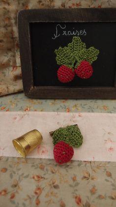 Crochet Strawberries ...