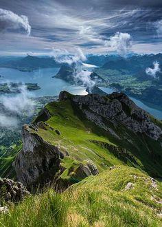 Beautiful nature scenery at Mount Pilatus, Switzerland Lake Lucerne Switzerland, Switzerland Vacation, Beautiful World, Beautiful Places, Wonderful Places, Amazing Places, Landscape Photography, Nature Photography, Iphone Photography