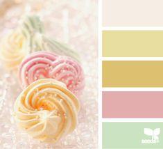 Sweet tones    www.design-seeds.com