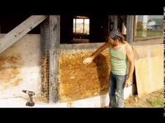Straw Light Clay - Alternative to Straw Bale Building, Craik, SK - YouTube