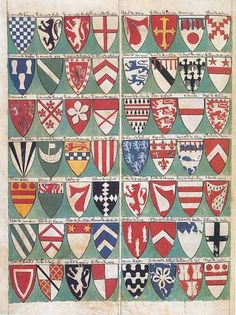 Lord Marshal's Roll, 1310
