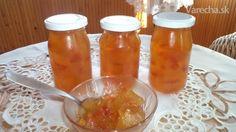 Džem z kôrky červeného melóna (fotorecept) - Recept