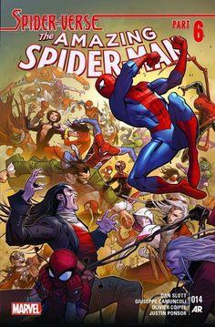 Amazing Spider-Man #14, by Giuseppe Camuncoli *