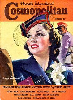 Cosmopolitan 1938-10 Vintage Magazines
