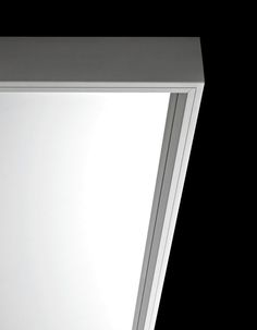 | DETAILS | Wall mirror / floor / contemporary / rectangular - EXTRA LARGE by Luciano Bertoncini - Kristalia