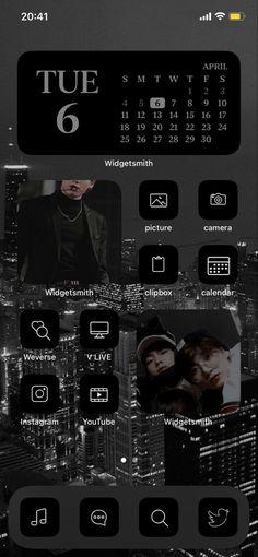 Bts Aesthetic Wallpaper For Phone, Aesthetic Wallpapers, Iphone Layout, Bts Aesthetic Pictures, Bts Lockscreen, Bts Jungkook, Homescreen, Ios, Instagram
