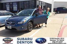 #HappyAnniversary to James Willis on your 2013 #Subaru #XV Crosstrek from Jerry Paredes at Huffines Subaru Denton!