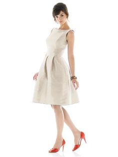 Alfred Sung Style D448 http://www.dessy.com/dresses/bridesmaid/d448/