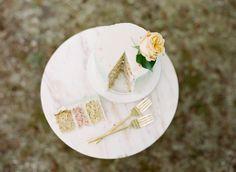 Big Love Wedding Design, Intimate Vow Renewal, mini buttercream cake, pink layers