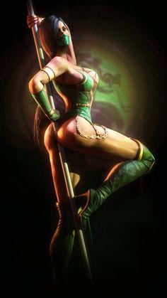Jade | Mortal Kombat by Urbanator.deviantart.com on @deviantART