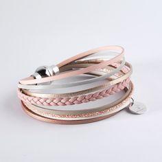 6004bf5b4597 Bracelet cuir femme multiliens tressé - Bijoux FlowersForZoé