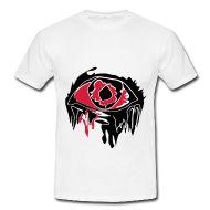 Augemotiv für Shirts. Könnte man auch für Halloween verwenden