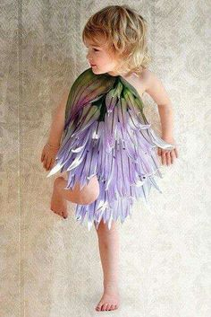 Vestido niña, flor 4.
