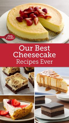 From traditional New York cheesecake to new takes on the classic, these 10 cheesecake recipes are sure to please.