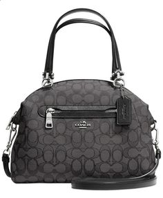 COACH PRAIRIE SATCHEL IN SIGNATURE CANVAS - COACH - Handbags Accessories - Macys