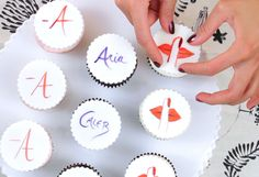 Pretty Little Liars Cupcakes