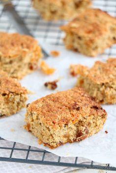 Havermout koeken met rozijnen en abrikozen - Mind Your Feed