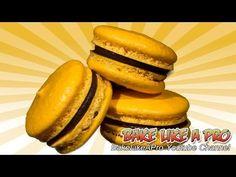 ▶ My NO FAIL French Macarons Recipe ! - Nutella Chocolate Ganache Filling - YouTube