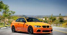 BMW automobile - Arkym Fire Orange BMW M3