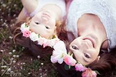 corona de flores madre e hija - Buscar con Google