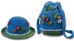 Handbag and Hat for Girls 2 - the site is in Russian (can be translated with Google) and there are unsavory ads...but there are three really cute patterns
