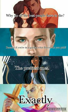 My heart broke at this because Jason Grace is now being added to the remembrance posts and I'm the farthest from ok. Also, all these posts never have all of the dead, for example, this post doesn't have Ethan, and most posts don't have Bob. Percy Jackson Ships, Percy Jackson Quotes, Percy Jackson Fan Art, Percy Jackson Books, Percy Jackson Fandom, Jason Grace, Rick Riordan Series, Rick Riordan Books, Percy And Annabeth