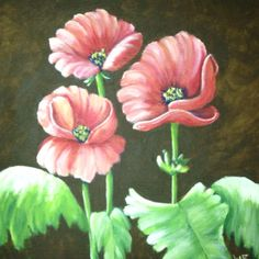 Poppies for auction at UACCH